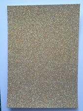 10 x A4 sheets Low Shed Glitter card - you choose colour pack- 24 lovely colours