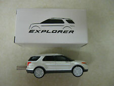 2011 Ford Explorer flash drive usb Limited Edition plastic car white metallic