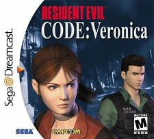 Resident Evil Code Veronica - Dreamcast Game