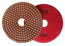 "4""  Metal-bond Wet Diamond Polishing Pad/Pads 100 Grit"