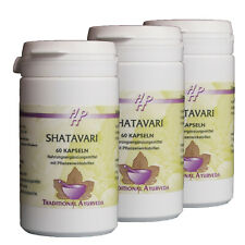 Shatavari , Großpack 3 x 60 Kapseln, Klimakterium, Frauenkraut, Hormonhaushalt