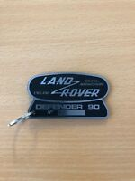 Acrylic laminate laser Land rover Defender 90 key ring