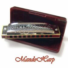 Suzuki Harmonica - 1072 Folkmaster (KEY OF C) NEW
