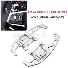 Steering Wheel Shift Paddle Extension For DSG VW GOLF GTI R GTD GTE MK7  //
