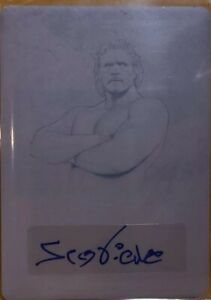 2020 Leaf Ultimate Wrestling 1/1 Printing Plate  Sid Vicious ONE OF ONE!!!!!!!!!