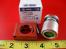 GE P9MPLVGV Pushbutton Switch Green Glass Lens Operator Illuminated 184522 New