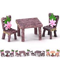New Miniature Fairy Garden Ornament Decor Pots Craft Accessories Dollhouse DIY