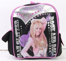 New Hannah Montana Girls  10'' Mini Backpack Kids Mini School Book Bag Black