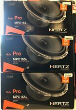 """HERTZ MPX165.3 PRO Coaxial 6-1/2"""" 2-Way 4 Ohm Speaker 100W RMS 200W Peak"""