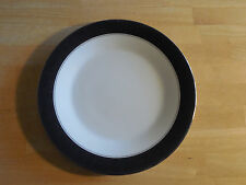 "Noritake Fine China MIRANO 6878 Dinner Plate 10 1/2"" Black 1 ea    2 available"