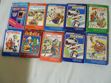 BOXED INTELLIVISION GAME LOT ADVANCED DUNGEONS & DRAGONS DONKEY KONG BURGERTIME