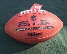 "New listing Official NFL Wilson Leather Football ""The Duke"""