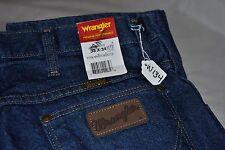 Men's Wrangler Jeans, NWT, 33x34, Slim Fit, Dark Blue. W134