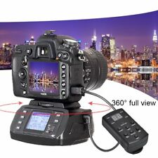 Motorized Remote Control 360° Panoramic DSLR Camera Tripod Pan Head Ballhead Kit