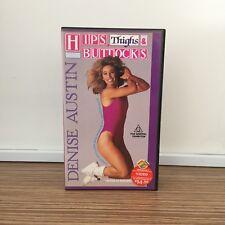 'HIPS, Thighs & BUTTOCKS' ~ Denise AUSTIN ~ VHS Pal VIDEO Tape CASSETTE ~ 1987