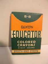 Dixon Educator Colored Crayons Box Jersey City Nj