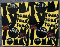 The Who Tommy Play Program 1993 Lot of 2