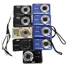 9x Kodak PIXPRO FZ51, FZ53, Fuji JX500, Bell & Howell S30HDZ Digital Camera Lot