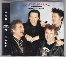 GOLDEN EARRING-POURING MY HEART OUT AGAIN CD SINGLE EURO 1991 LIVE-CD WIE NEU!
