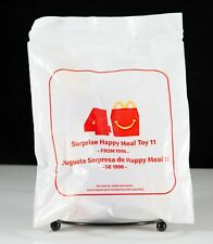 New 2019 McDonalds 40th Anniversary Surprise Happy Meal Toys  - Choose yours!