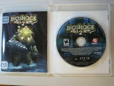 PS3 BioShock 2 II Sony PlayStation PS 3 Video Game Complete Manual FREE SHIPPING
