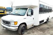 2006 FORD BUS 25 PASSENGER  -  NO RESERVE!!!!