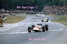 Graham Hill Gold Leaf Team Lotus 49B USA Grand Prix 1968 Photograph 2