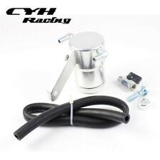 Aluminum Billet Oil Catch Can Tank For 05-12 Chevy Corvette LS2 LS3 LS7 Z06