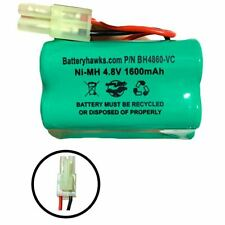 4.8v 1600mAh Ni-MH Battery Pack Replacement for Euro Pro Shark Vacuum Cleaner Sw