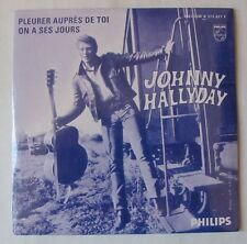JOHNNY HALLYDAY  ON A SES JOURS (SHE'S A WOMAN cover BEATLES) CD single NEUF