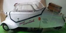 Messerschmitt KR200.1:18 Diecast car. Just Married. Wedding gift. Decoration.