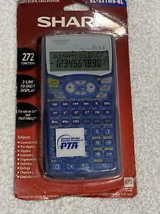 NEW Sharp Scientific Calculator Model EL-531WB-BL New Old Stock Factory Sealed