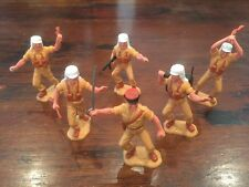 Timpo Foreign Legion x 6 - Complete Set - Desert Warriors - Beau Jeste - 1970's