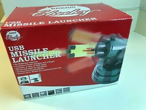 Open Box - USB Missile Launcher by Dream Cheeky Model 782 Complete Fast 10 Feet