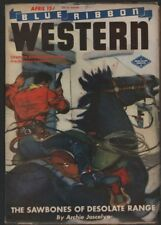 Blue Ribbon Western 1945 April.   Pulp