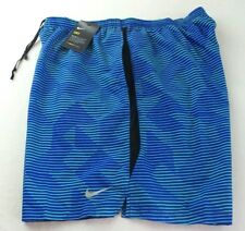 NIKE Men's Shorts XXL Blue Green Challenger Mesh Brief Athletic Training DriFit