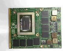 MSI GT60 GT70 1762 MS-1W051 VER:1.1 N12E-GTX2-A1 GTX 580M VIDEO CARD 2GB GDDR5