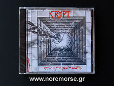 CRYPT - STICK TO YOUR GUTS +6, CD No Remorse Records 2015 SPEED POWER METAL NEW