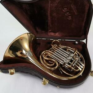 Alexander Model 103G Professional French Horn in Gold Brass SN 4252 GORGEOUS