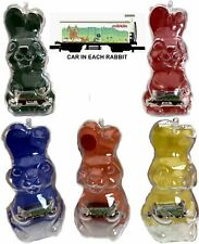 Marklin Z Scale 5 Easter Rabbit Ornaments Each w/Same Car  - NO BOX C8