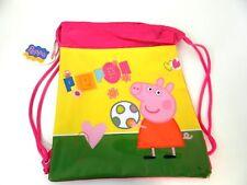 SACCA GIALLA PEPPA PIG by ACCADEMIA bimba scuola tempo libero TA82