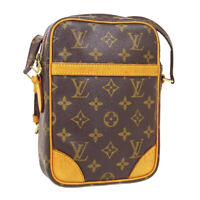 LOUIS VUITTON DANUBE CROSS BODY SHOULDER BAG AR0031 MONOGRAM M45266 AUTH A46725e