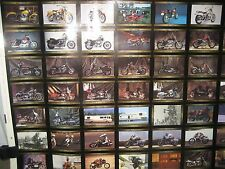 "Harley-Davidson 1993 Series 3 Trading Cards in an Uncut Sheet, 36.5"" x 26.5"""