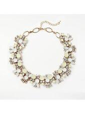 Collar Necklace, Gold/Limoncello John Lewis Coloured Stone