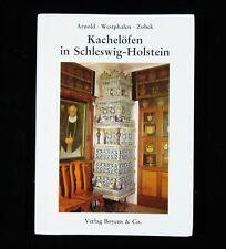 BOOK German Tile Stoves of Schleswig-Holstein antique folk art faience cast iron
