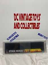 Vintage Star Wars Kenner 1979 Shelf Talker  Display Toy Center STUNNING AFA 80