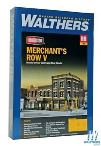 Walthers 933-4041 Merchant's Row V Kit HO Scale Train