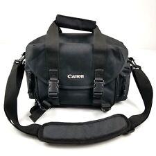 Canon Deluxe Gadget Bag Professional Camera & Gadget Black Shoulder Bag Euc
