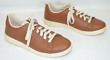 ED Ellen DeGeneres Chapala Sneakers Shoes Leather Brown Lace Up Women's 9.5M