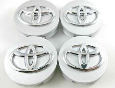 4X Toyota Wheel Rim Center Hub Caps Highlander Camry Venza Avalon Prius Silver